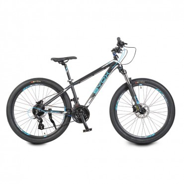 "Byox Mountain Bike 26"" with hydraulic disc brake 24 speed Altus B5 Red"