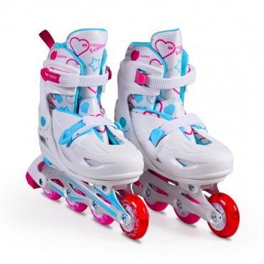 BYOX Adjustable skates 5 in 1 Evolution L (38-41) Pink
