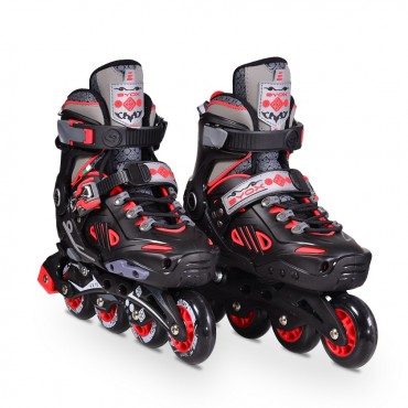 BYOX Adjustable Roller Skates In-Line L 38-41 Edge