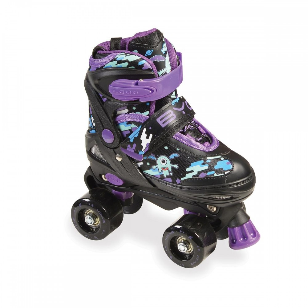 BYOX Adjustable skates Zax 2in1 M (34-37) Blue