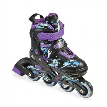 BYOX Adjustable skates Zax 2in1 M (34-37) Purple