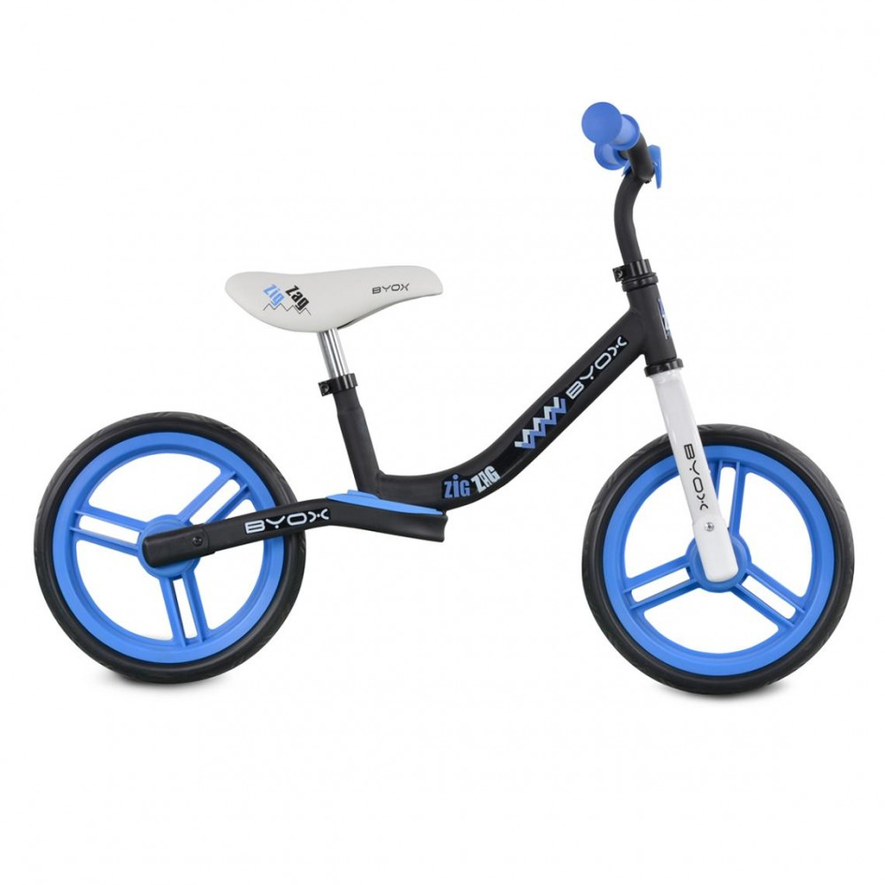 Byox Balance bicycle Zig-Zag Blue