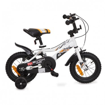 Byox children's bicycle 12'' Prince White