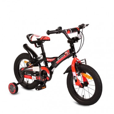 Byox children's bicycle 14'' Rapid Black