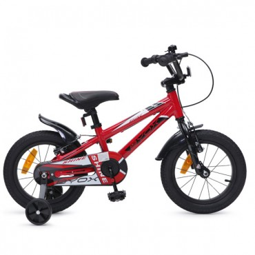 "Byox aluminum children's bicycle 14""  Shine Red"