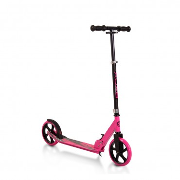 BYOX aluminum scooter with 200mm wheels Storm Pink, GSS-A2-004D