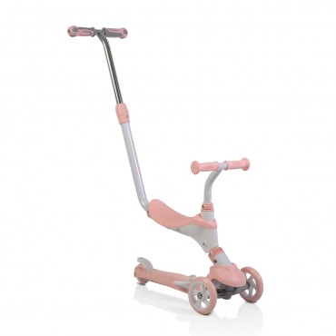 Byox Scooter  3 in 1 with parent control, Tristar Pink
