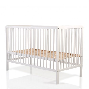 CANGAROO WOODEN BED MILKY WAY WHITE 60X 120