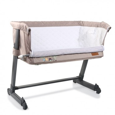 Cangaroo Βaby Bassinet Shared Love Beige