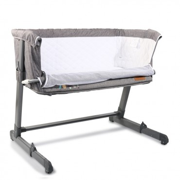 Cangaroo Βaby Bassinet Shared Love Grey