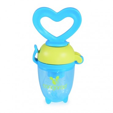 Cangaroo Silicone Fresh Food Feeder Love Blue ,F1333