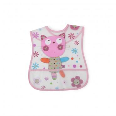Cangaroo Baby Bib Happy Meal Pink 1004