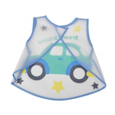 Cangaroo Waterproof Baby bib Mealtime Blue 1005