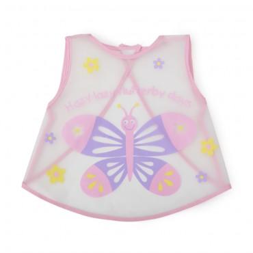 Cangaroo Waterproof Baby bib Mealtime Pink 1005