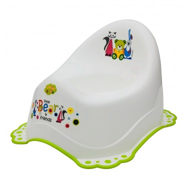 Cangaroo Potty White-Green 5313