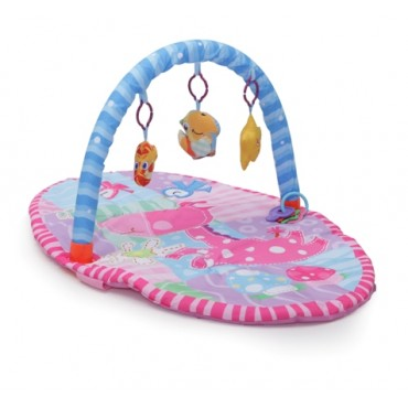 Cangaroo play gym - activity mat Happy Space Pink