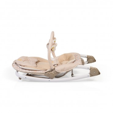 Cangaroo Baby bouncer Carrie, Beige
