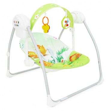 Cangaroo bouncer and swing Party Green  BY012S-G