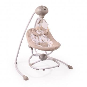Cangaroo Electric swing Woodsy Beige, 3800146247607