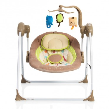 Cangaroo bouncer-swing  Baby Swing Plus Cappuccino