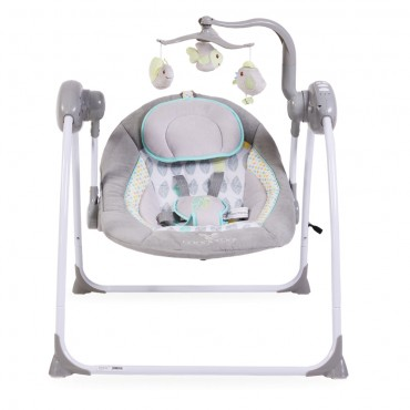 Cangaroo bouncer-swing  Baby Swing Plus Grey