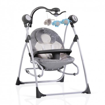 Cangaroo bouncer-swing  Swing Star Grey SW102