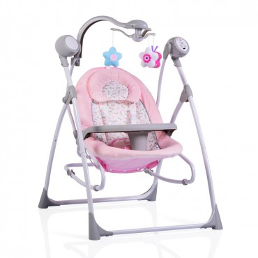 Cangaroo bouncer- swing Swing Star Pink SW102