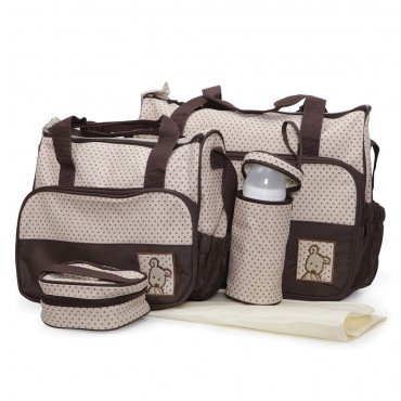 Cangaroo  Mama Bag set - Stella Brown