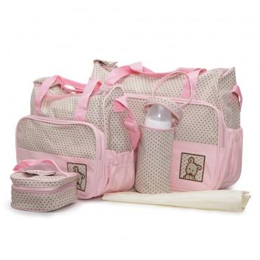 Cangaroo Mama Bag set - Stella Pink