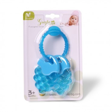 Cangaroo Waterfilled teether Grape Blue T2215