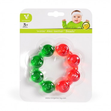 Cangaroo Waterfilled teether Beads - T1209