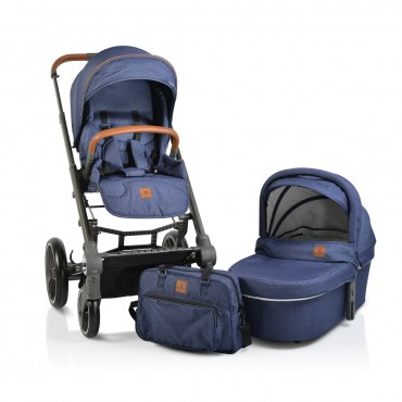 Cangaroo Baby Stroller with carrycot ,Icon Jeans