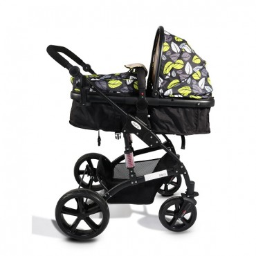 Cangaroo reversible combined baby stroller 2 in1 Pavo Red