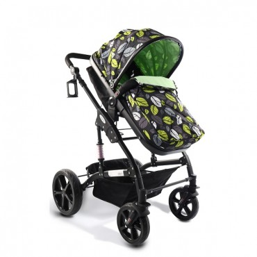 Cangaroo reversible combined baby stroller 2 in1 Pavo Green
