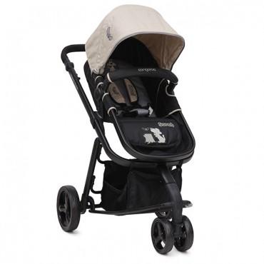 Cangaroo Sarah Beige reversible 2 in 1 combined baby stroller