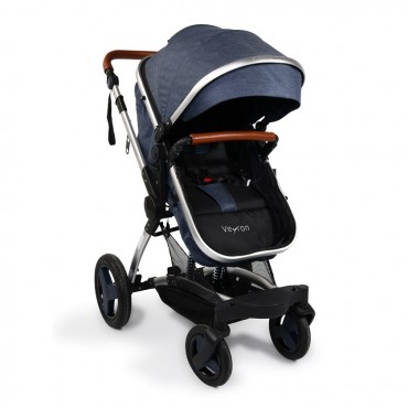 Moni reversible combined baby stroller Veyron Jeans