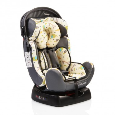 Moni safety car seat 0-25 kg Guardian, Grey