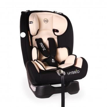 Moni Car Seat 0-36 kg Hybrid, Beige
