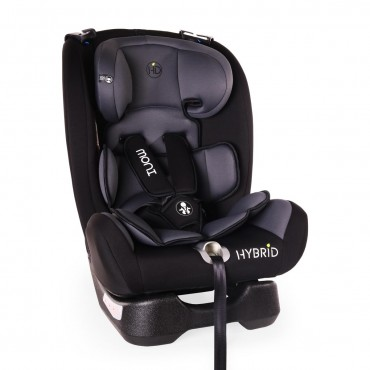 Moni Car Seat 0-36 kg Hybrid, Grey