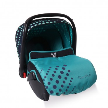 Cangaroo safety car seat Rachel Blue Dots, 0-13Kg