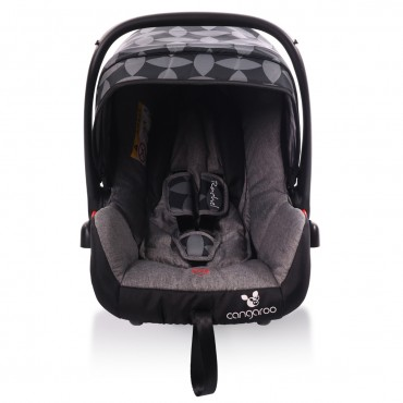 Cangaroo safety car seat Rachel Grey Leaves, 0-13Kg