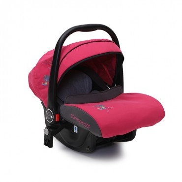 Cangaroo safety car seat Stefanie Pink, 0-13Kg