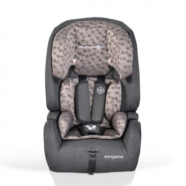 Cangaroo safety car seat 9-36 kg Isofix Safari Stars
