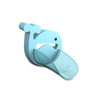 Cangaroo Faucet extender Whale Blue