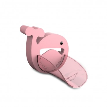 Cangaroo Faucet extender Whale Pink