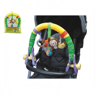 Moni Baby Clip Toy Monkey - 81456