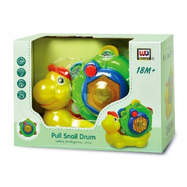 Moni Baby musical toy Snail ,WD3649
