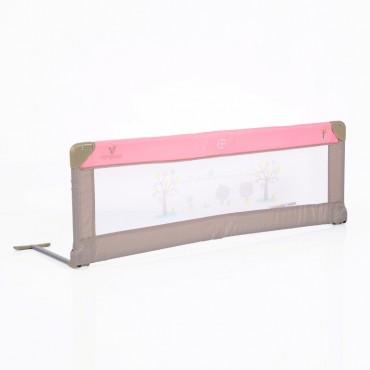 Cangaroo protective Bed Rail, Pink 1.30m