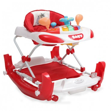 Cangaroo Baby Walker Swing Bobby, Red
