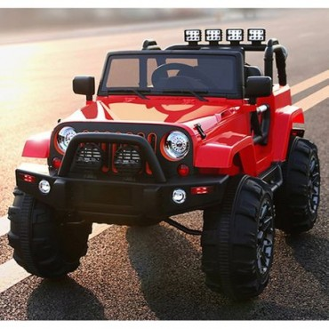 Kikkaboo Rechargeable car 12V OffRoad Red, 31006050131